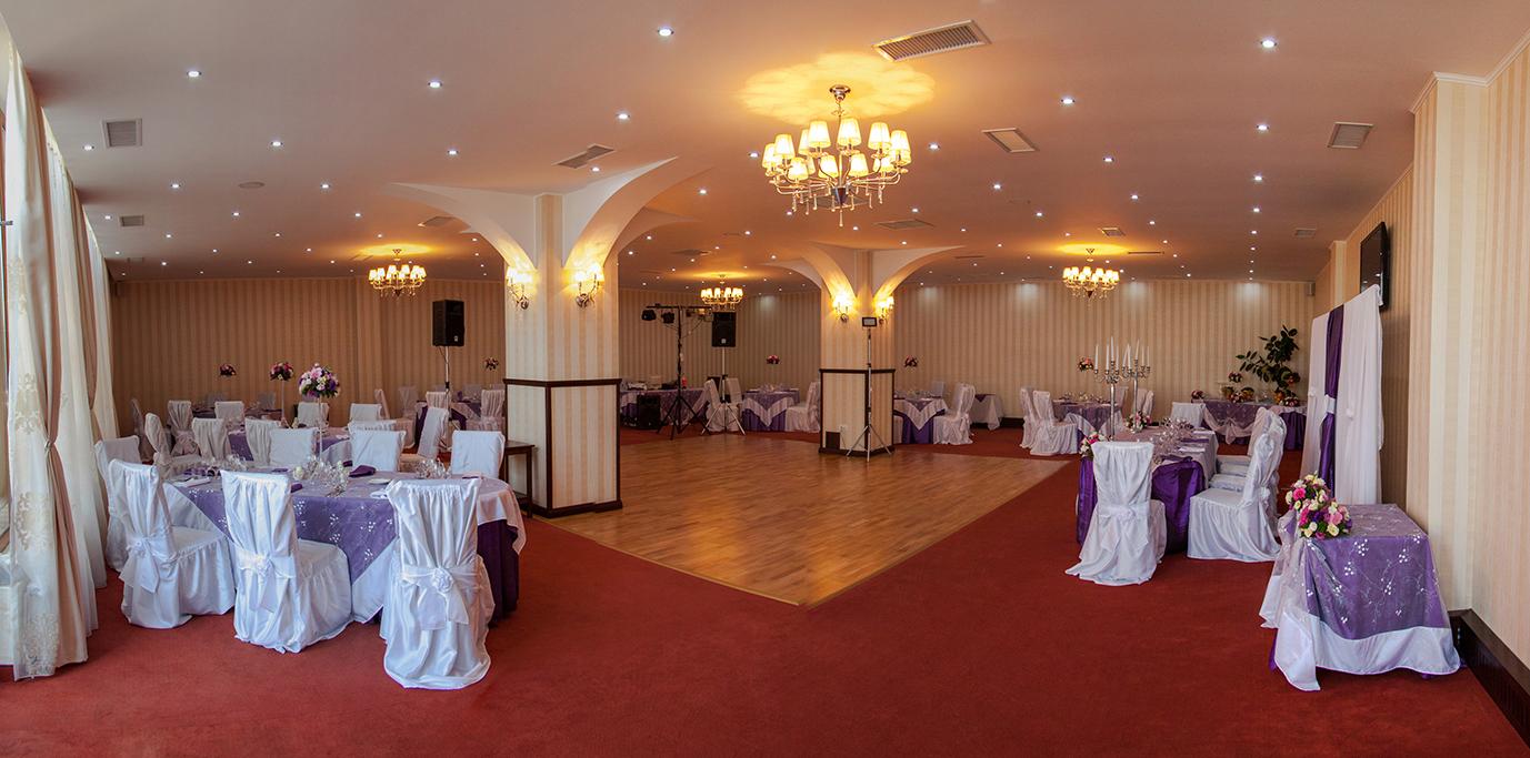 Panorama sala evenimente